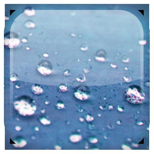 個人化App|雨滴動態桌布 LOGO-3C達人阿輝的APP