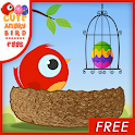 Cute Angry Bird : Eggs icon