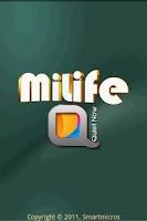 Screenshot of miLife QuietNow