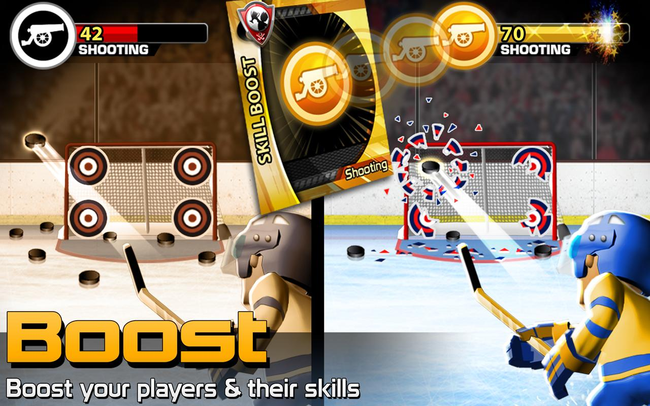 BIG WIN Hockey- screenshot