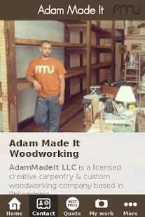 Adam Made It Woodworking- screenshot thumbnail