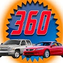 AutoViews360 Used Car App logo