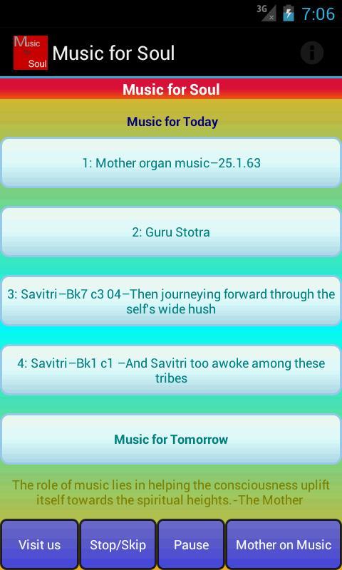 Music for Soul- screenshot