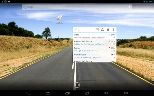 MailDroid Pro - Email Application Screenshot