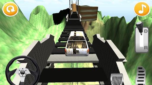 Mountain Hill Climb Car Racing