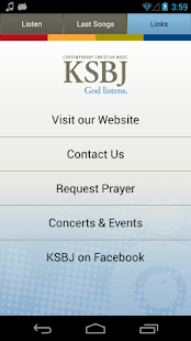KSBJ – God listens.- screenshot thumbnail