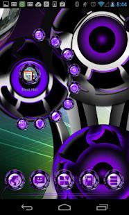 玩個人化App|Next 3D Theme Purple Twister免費|APP試玩