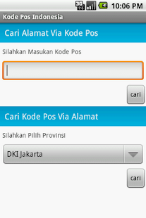 Kode Pos Indonesia - screenshot thumbnail