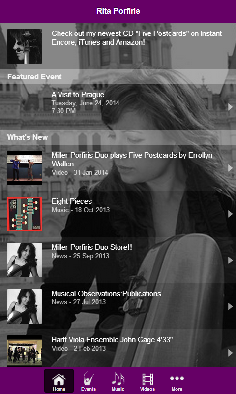 Rita Porfiris- screenshot