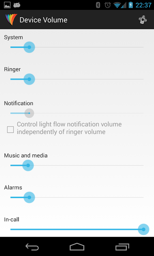 Light Flow - LED&Notifications - screenshot