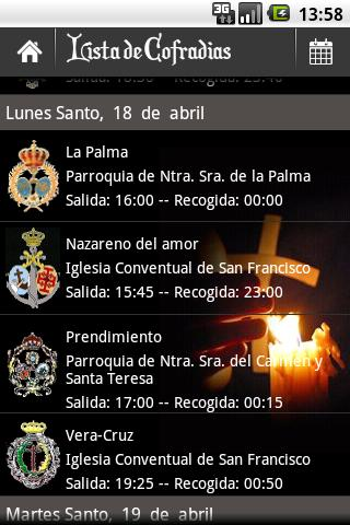 Holy Week Guide - screenshot