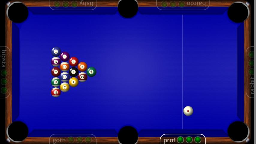 Funky Pool- screenshot