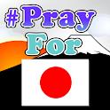 PrayForJapan logo