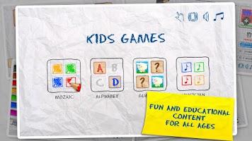 Screenshot of Kids Games (4 in 1)