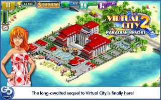 Screenshot of Virtual City®: Paradise Resort