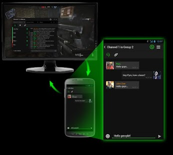 Razer Comms - Gaming Messenger - screenshot thumbnail