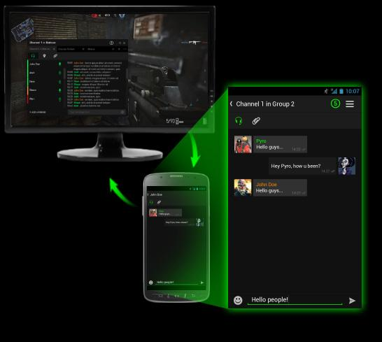 Razer Comms - Gaming Messenger - screenshot