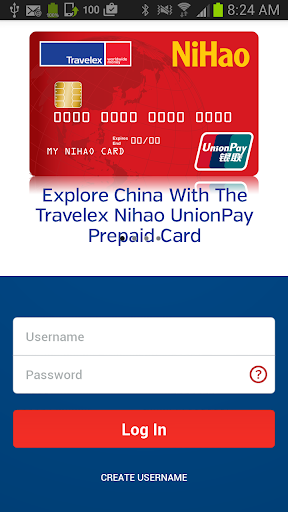 Travelex NiHao Prepaid Card