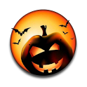 Halloween Jack-o-Lantern Clock icon