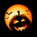 Halloween Jack-o-Lantern Clock