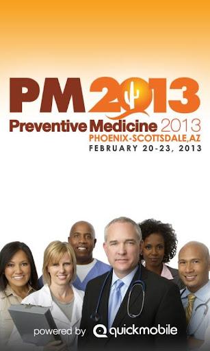 Preventive Medicine 2013