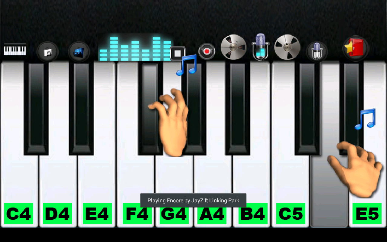 Killer Piano Pro - screenshot