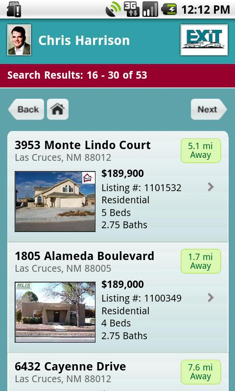 Las Cruces Homes - screenshot