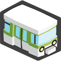 Locomote – subway, bus, bike logo