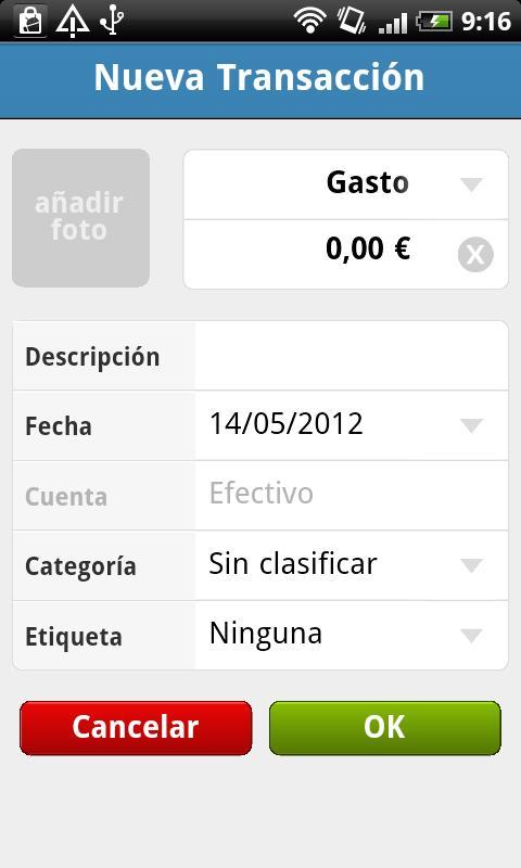 Wallo Finanzas Personales- screenshot