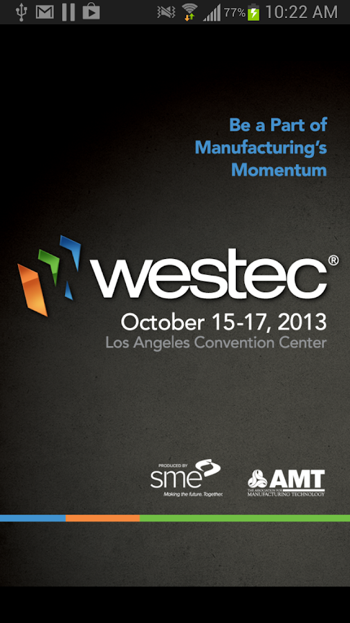 WESTEC 2013 - screenshot