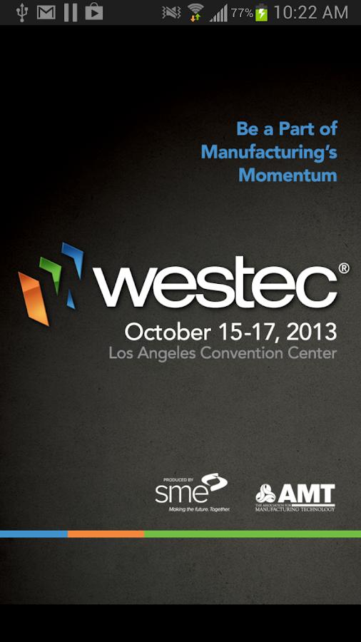 WESTEC 2013 - screenshot