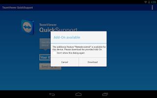 Screenshot of QS Add-On: LG