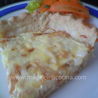 Swiss Tart with Caramelized Onion