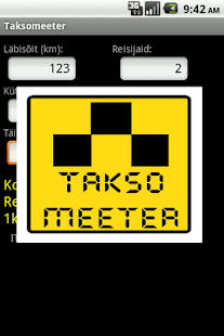 Taksomeeter- screenshot thumbnail