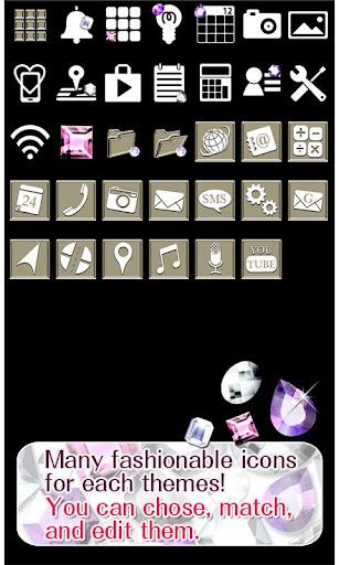 Cute Theme-Glittering Gems- 1.1 Windows u7528 4