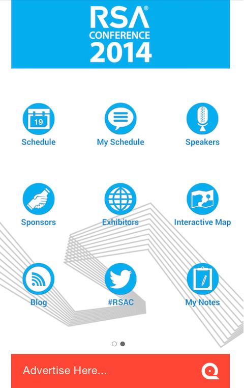 RSA Conference - screenshot