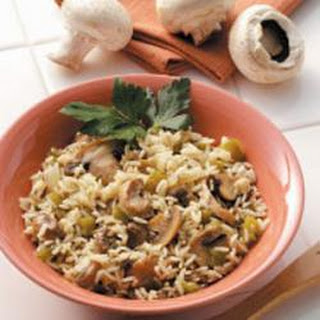 Mushroom Rice Pilaf Recipe