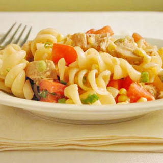 Chicken, Corn, and Green Onion Rotini