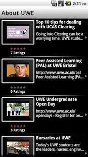 UWEmobile - screenshot thumbnail