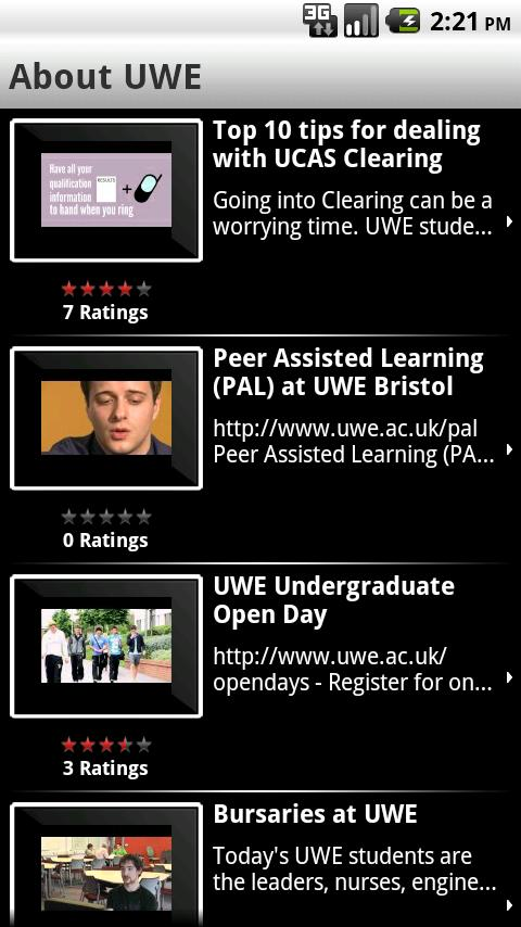 UWEmobile - screenshot