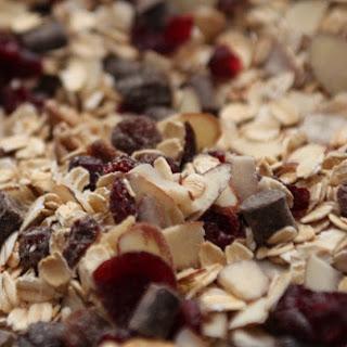 Crunchy Chocolate Cherry Granola