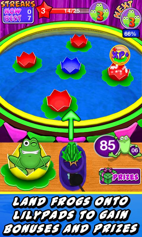 Frog Toss! - screenshot