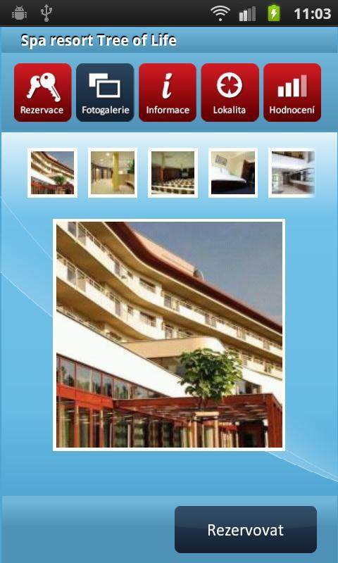 HOTELY cz Rezervace ubytování- screenshot