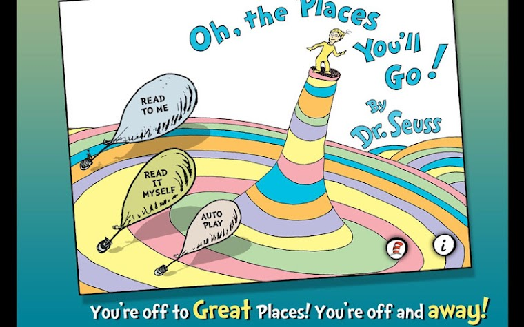 Oh, the Places You'll Go! Screenshot