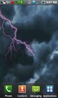 Screenshot of Lightning Live Wallpaper Free