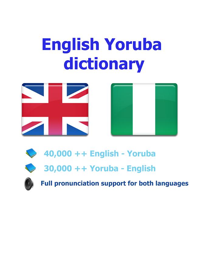 Yoruba itumọ - Android Apps on Google Play