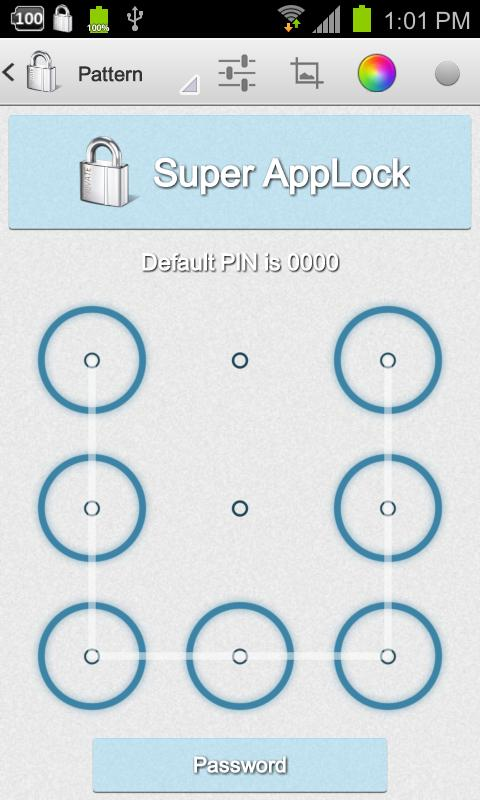 Super AppLock (App Protector)- screenshot