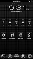 Screenshot of Black - Icon Pack