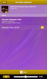 San Diego Symphony - screenshot thumbnail