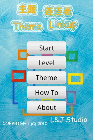 Theme Linkup - screenshot